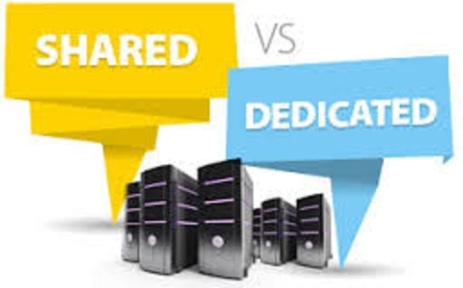 Shared hosting vs Dedicated hosting